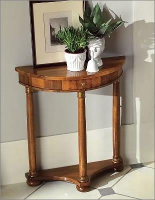 TOSATO トザート社 イタリア家具 最高級半円コンソールテーブル
