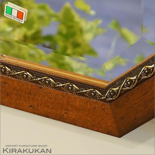 イタリア製 古木風 姿見ミラー 送料無料 イタリア ミラー 姿見 アンティーク 壁掛け 姿見 全身鏡 姿見 輸入雑貨