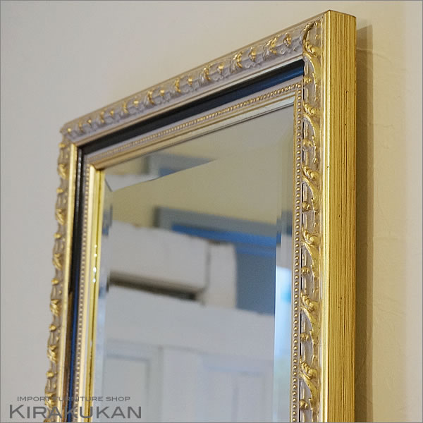イタリア 姿見ミラー 鏡 壁掛け【送料無料】イタリア製 アンティーク 全身鏡 おしゃれ 鏡