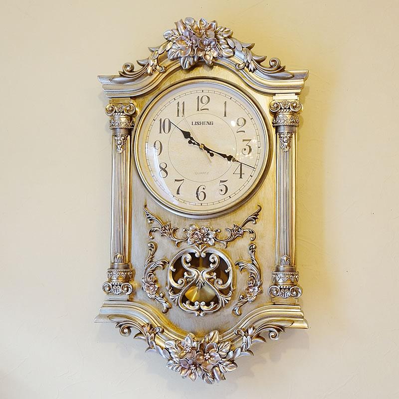 ビクトリアンパレス・ドゥオーモ 掛け時計 ゴールド