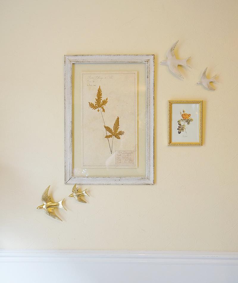 ウォールデコレーション ウォールデコ バード 壁掛け インテリア雑貨 置物 おしゃれ アンティーク風 雑貨 かわいい 小物 あこがれ 鳥 ゴールド ホワイト プレゼント